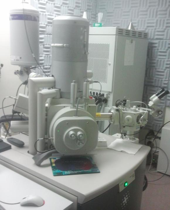 FEI Nova NanoSEM Scanning Electron Microscope FESEM FE-SEM Cryo Gatan